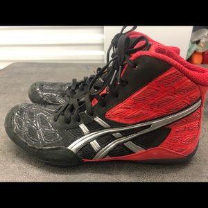 Asics Split Second Wrestling Boot Men'S Shoes